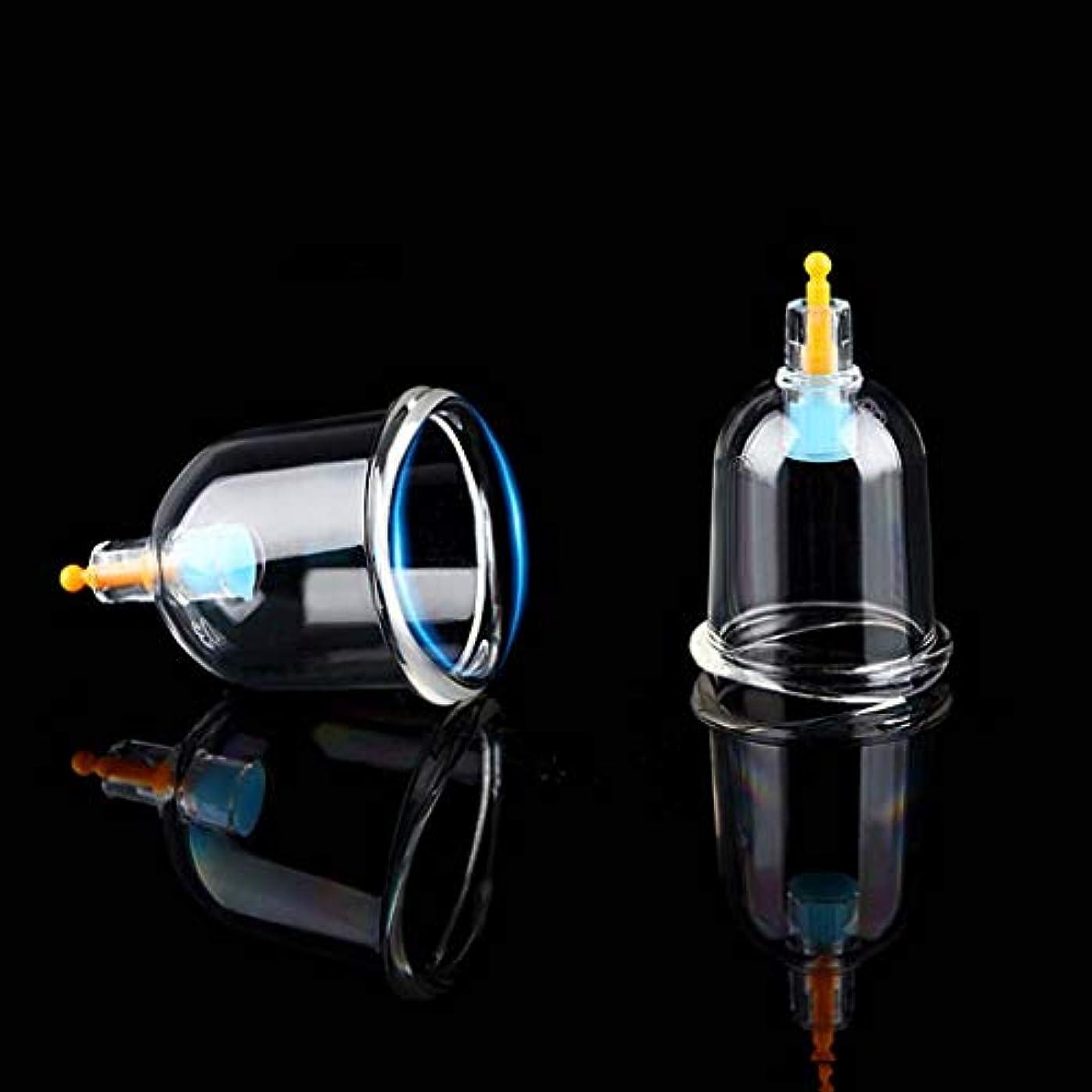 見通しクロス送信するセットカッピング、プロフェッショナル中国のツボカッピングセラピーは真空ポンプ磁気セルライトカッピングマッサージキット-12カップで吸引カッピングセットを設定します。