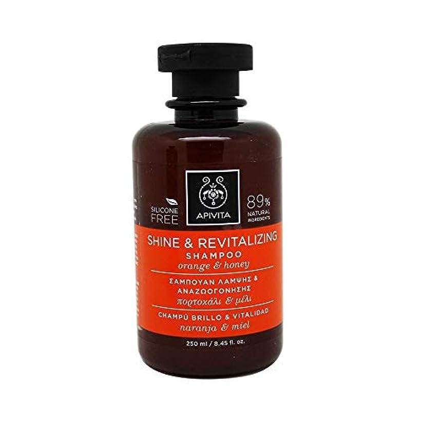 呼び起こすボランティアゼリーアピヴィータ Shine & Revitalizing Shampoo with Orange & Honey (For All Hair Types) 250ml [並行輸入品]