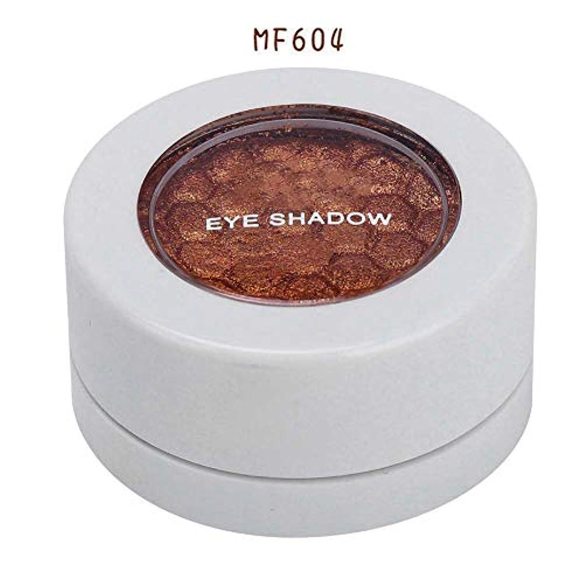 灰膨張するウェブ4色 アイシャドウパレット アイシャドウパレット 化粧品ツール 化粧マットグロス アイシャドウパウダー (MF604)