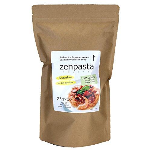 伊豆河童 乾燥しらたき ゼンパスタ 25g×16個セット 麺のみ 低カロリー ヘルシー 無添加 無農薬 糸こんにゃ...