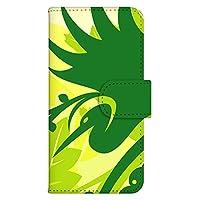 ホワイトナッツ ARROWS Kiss F-03D ケース 手帳型 プリント手帳 パターンG(wn-420) カード収納 スタンド機能 バードデザイン WN-PR077238-S