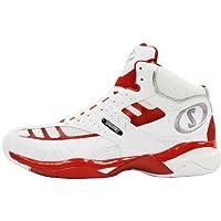 SPALDING(スポルディング) バスケットボールシューズ COMBAT メンズ ホワイト/レッド 5 27