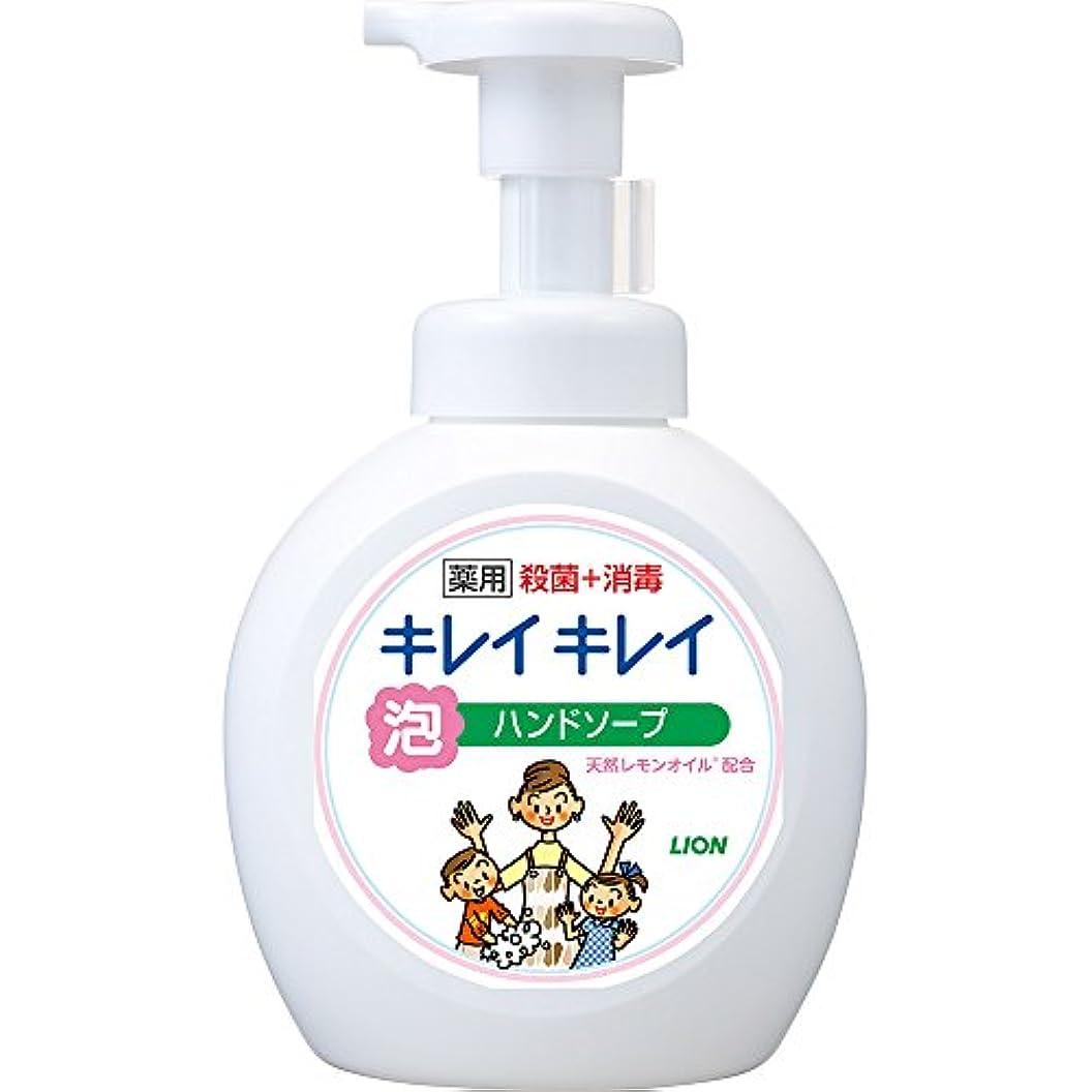 洗剤哲学的かき混ぜるキレイキレイ 薬用 泡ハンドソープ シトラスフルーティの香り 本体ポンプ 大型サイズ 500ml(医薬部外品)