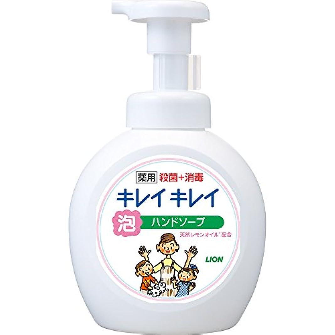 関数グローブ看板キレイキレイ 薬用 泡ハンドソープ シトラスフルーティの香り 本体ポンプ 大型サイズ 500ml(医薬部外品)