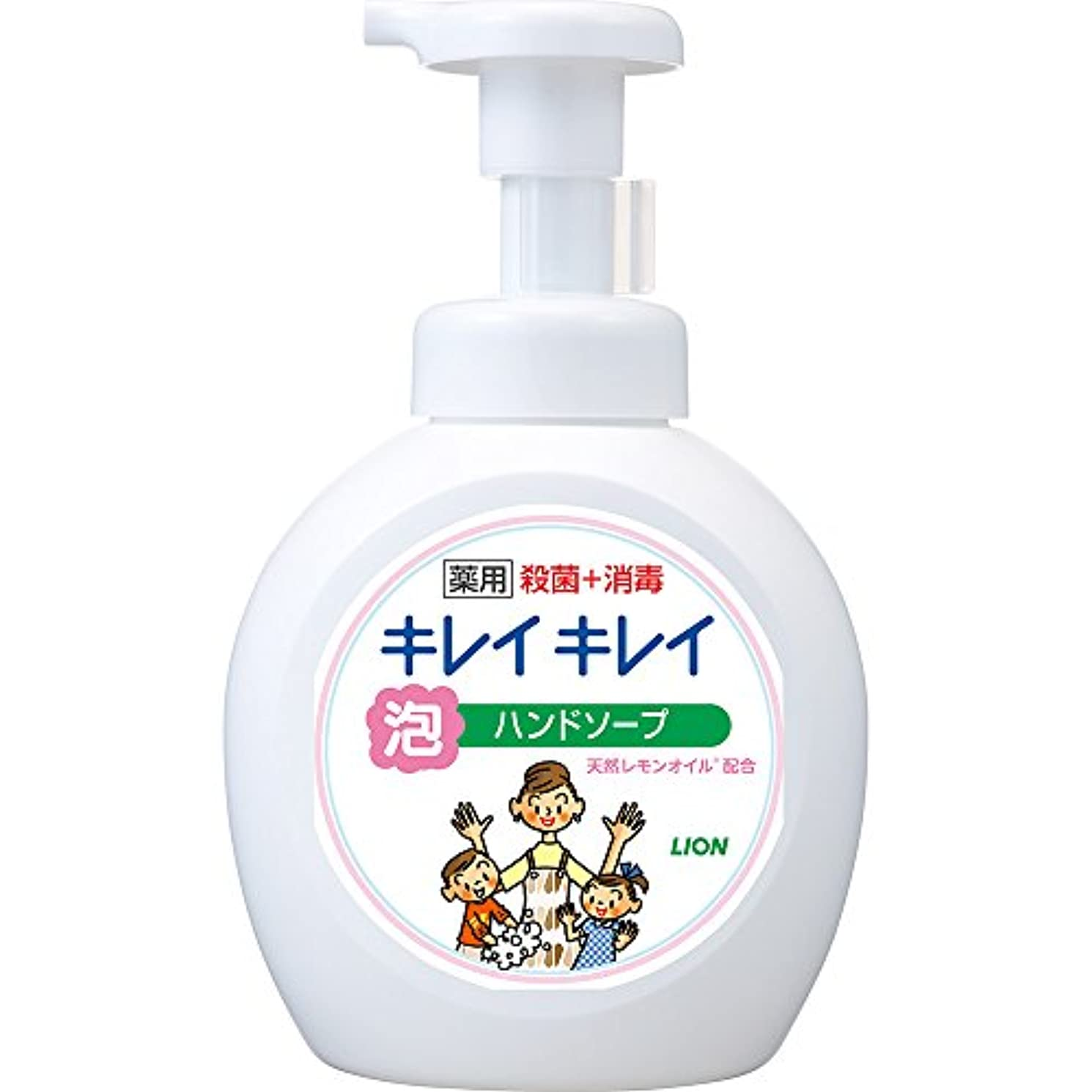 考古学ヘッドレスガイドラインキレイキレイ 薬用 泡ハンドソープ シトラスフルーティの香り 本体ポンプ 大型サイズ 500ml(医薬部外品)