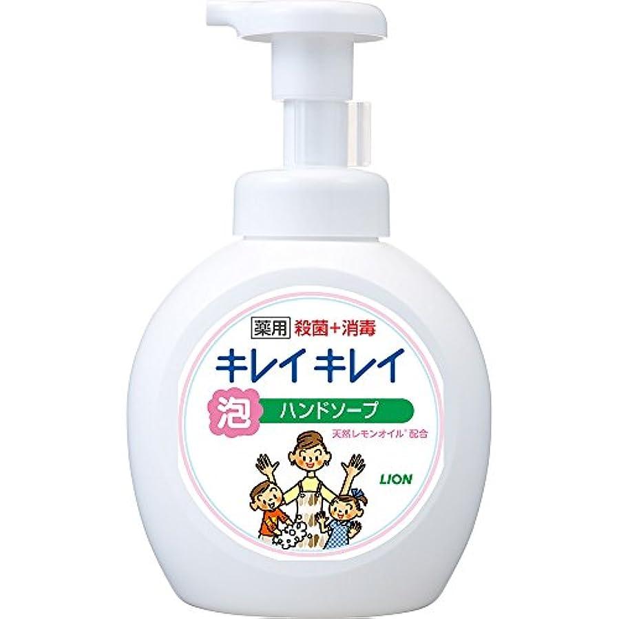 ポット論理的に申請中キレイキレイ 薬用 泡ハンドソープ シトラスフルーティの香り 本体ポンプ 大型サイズ 500ml(医薬部外品)