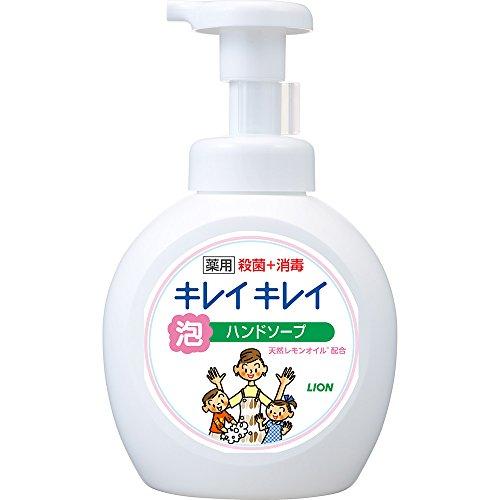 【医薬部外品】キレイキレイ 薬用 泡ハンドソープ シトラスフルーティの香り 本体ポンプ 大型サイズ 500ml
