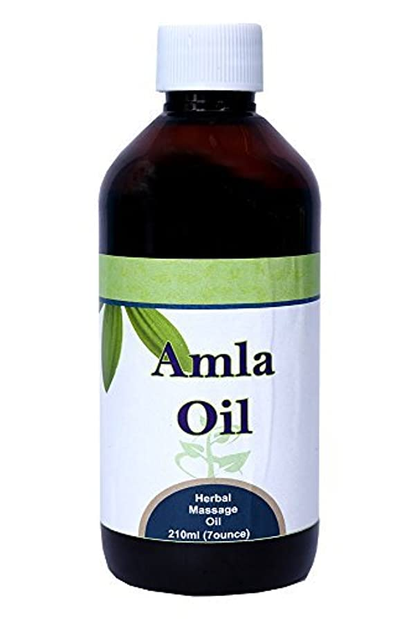 メディア肌現金Amla Oil (Emblica Officinalis, Phyllanthus Emblica) 210 Ml (7 Oz) - (For Massage & External use) by Herbsforever