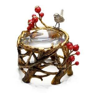 efluvi Paperweight Loupe 小鳥と赤い実のルーペ ef-PW-BIRD ef-PW-BIRD