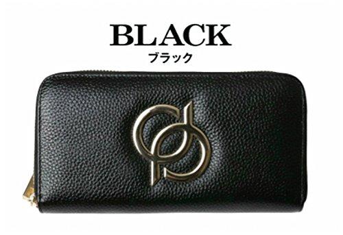 財布 本革 レディース 長財布 ブランド33 (PD33ブラック)