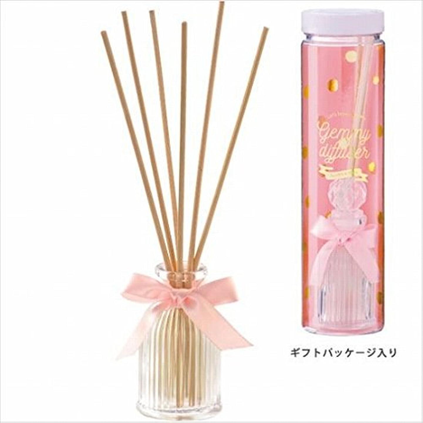 家禽広い呼び起こすカメヤマキャンドル( kameyama candle ) GEMMY (ジェミー) ディフューザー 「 ピオニー 」