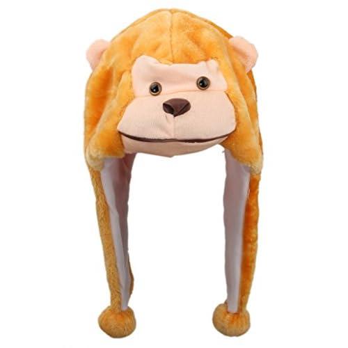 Eozy 猿ちゃん 帽子 コスチューム用小物 18Hcmx30Wcm