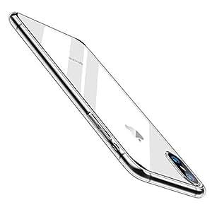 【Humixx】 iPhone Xs ケース iPhone X ケース [ スリム ライト ] [ Qi 充電 対応 ] [ レンズ保護 衝撃 吸収 ] [ 一体感 ボタン保護 ] ( iPhone Xs , iPhone X , クリア )[Skin Series]