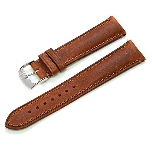 MORELLATO モレラート ホワイトニングカーフ時計バンド DERAIN ドラン ゴールドブラウン 20mm