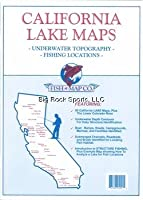 California Lakes Maps Northern Fresh by Fish-N-Map