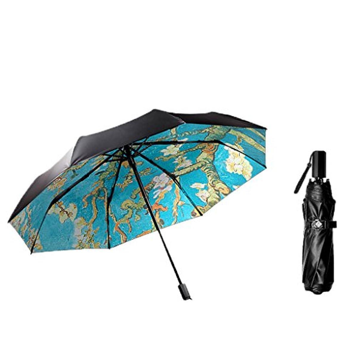 姿を消すビデオ生産性Umbrella Sun Protection UV折り畳み式超軽量ミニポケット傘