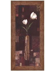 ロマンチックチューリップby Kate And Liz Pope – 8 x 20インチ – アートプリントポスター LE_205270-F10570-8x20