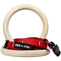 海またはStar体操リングフルボディ強度ファミリself-fitness用カムバックルストラップ