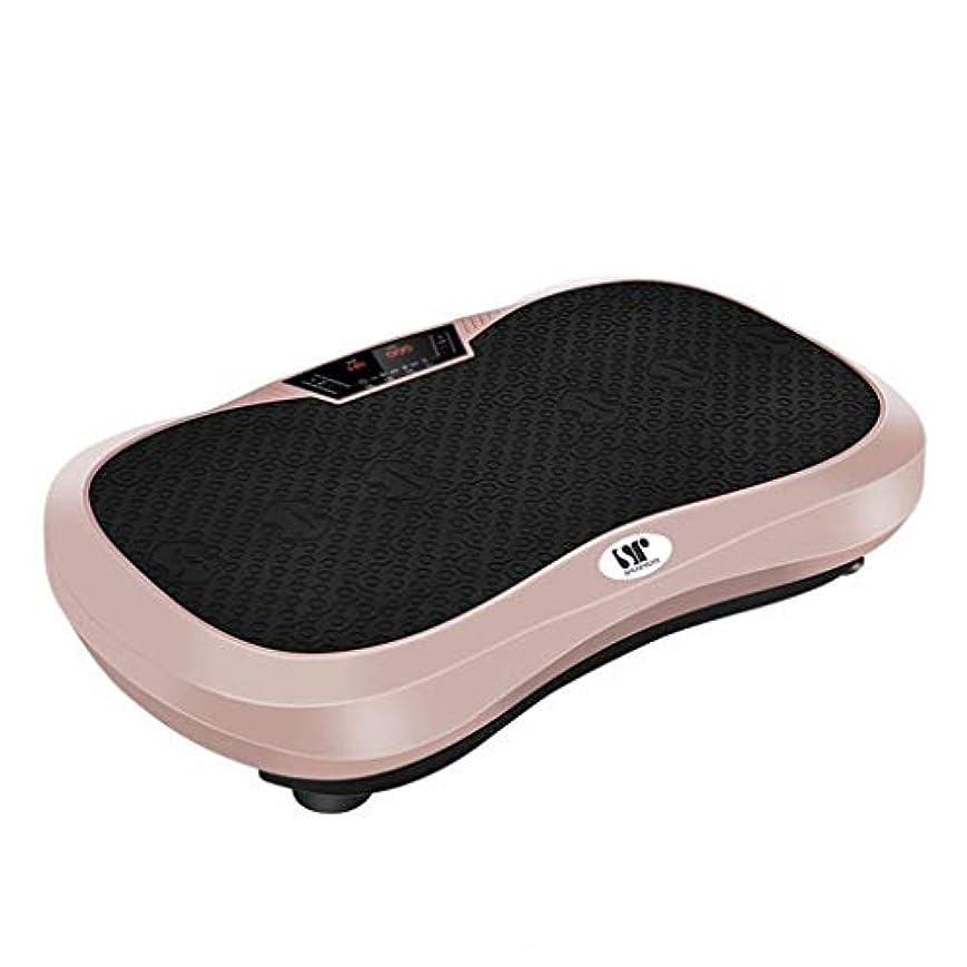 マークダウンリンス部門家庭用減量装置、超スリムな振動板、簡単に保管できるBluetoothスピーカー付きフィットネス振動機は、自宅で脂肪トーンを失います (Color : B)
