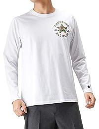 7c336605a618b Amazon.co.jp  CONVERSE(コンバース) - Tシャツ・カットソー   トップス ...