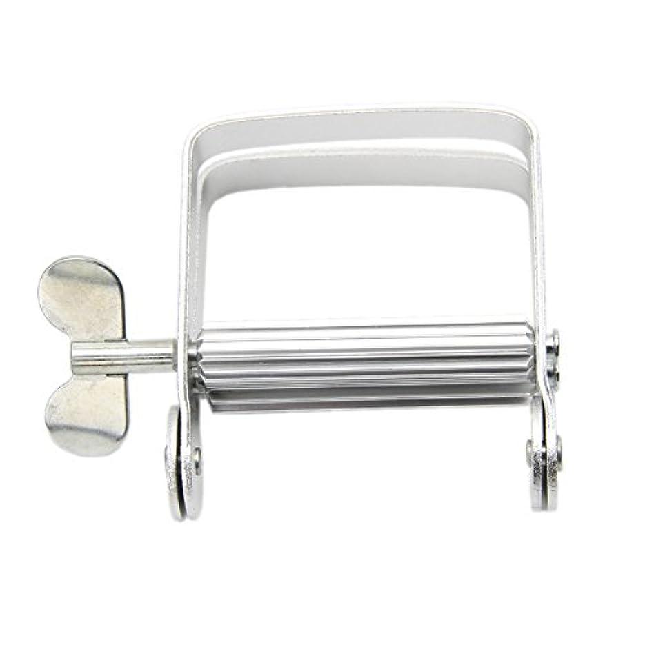 依存噴水コードLamdooアルミ歯磨き粉ディスペンサーツールチューブスクイーザ簡単バスルームホームdiy
