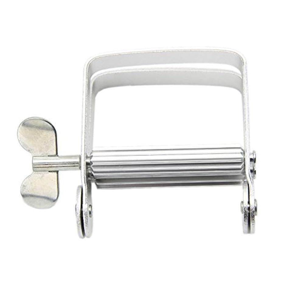 ナンセンス配管工暖かさLamdooアルミ歯磨き粉ディスペンサーツールチューブスクイーザ簡単バスルームホームdiy