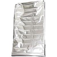 軽くてあたたかい 寝袋タイプのアルミ保温シート KH-2000