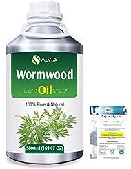 Wormwood (Artemisia absinthium) 100% Natural Pure Essential Oil 5000ml/169fl.oz.