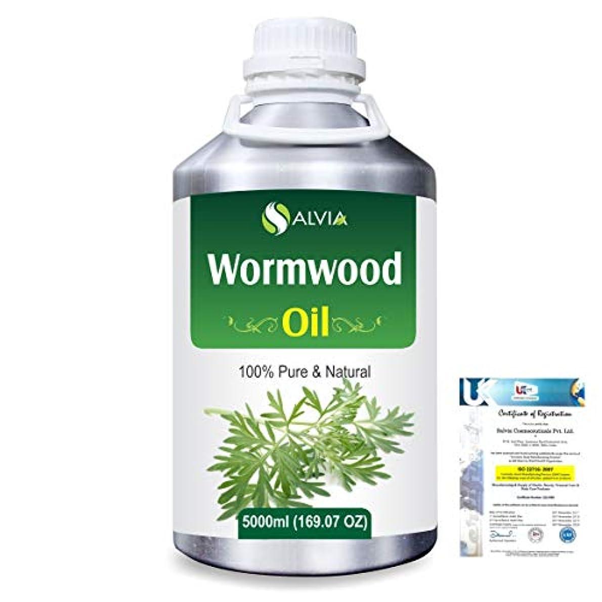 塩突っ込む高くWormwood (Artemisia absinthium) 100% Natural Pure Essential Oil 5000ml/169fl.oz.