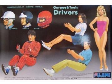 1/24 ガレージ&ツールシリーズ GT4 ドライバ-