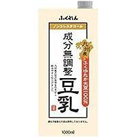 ふくれん 九州産ふくゆたか大豆成分無調整豆乳 1000ml