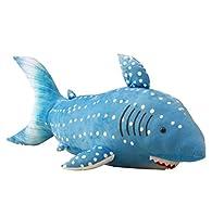 JN® 鮫 ぬいぐるみ 抱き枕 クッション リアル サメ おもちゃ お昼寝枕 インテリア クリスマス 誕生日 プレゼント (130CM)