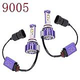 2 X 30W(1対60W)6,000Lm HB3 9005クリーLEDヘッドライト電球変換キット(DIYあなたの色:白、琥珀、クールホワイト) - ハロゲンとキセノンHID電球の交換