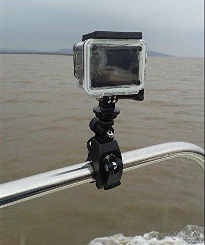 『MyArmor カメラホルダー カメラスタンド オートバイ・バイク・自転車 ハンドルに カメラ/GoPro/デジカメ/ドライブレコーダー を 固定 自由雲台 三脚 はさみ込式 (カメラマウントのみ)』の5枚目の画像