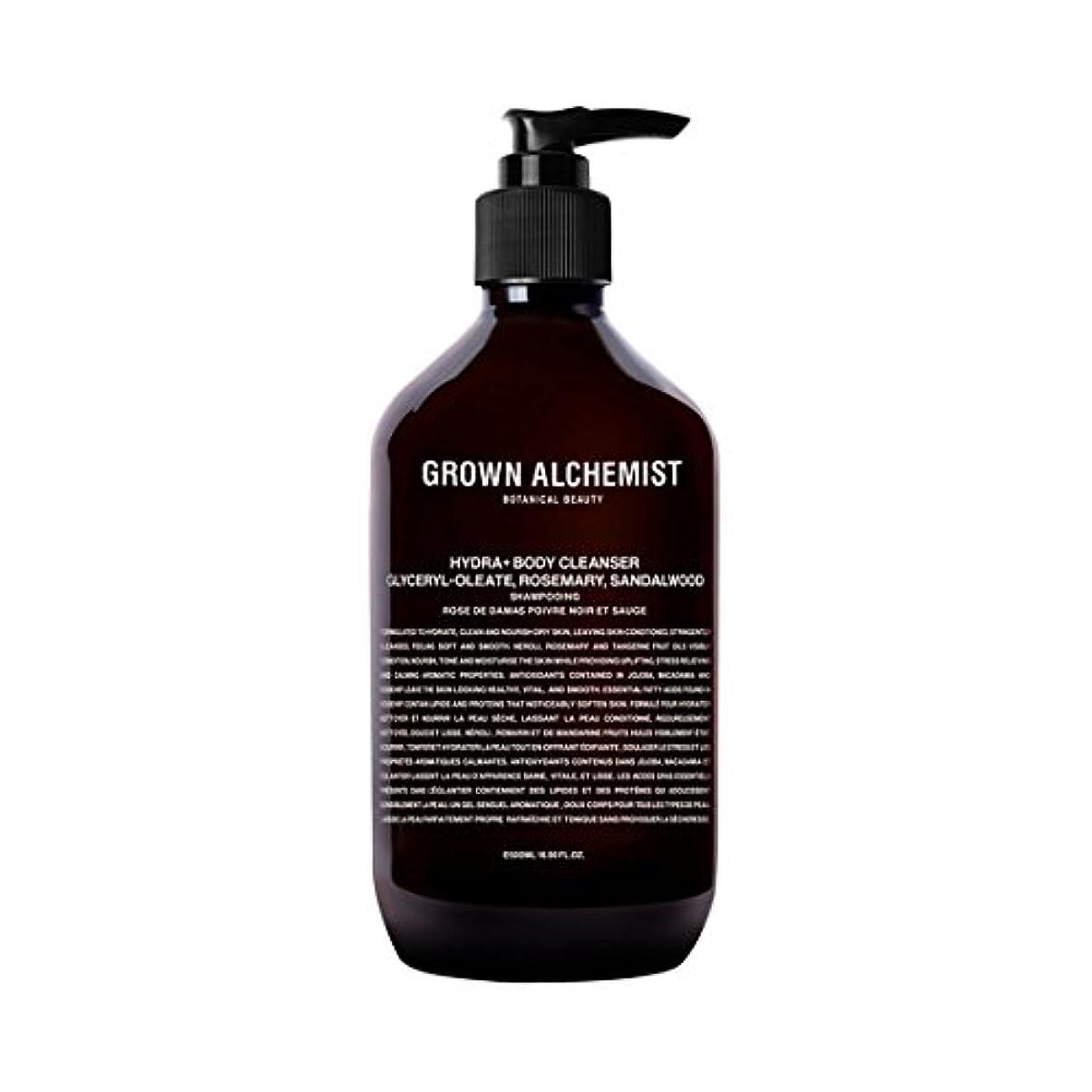 ミケランジェロ部ファイターGrown Alchemist Hydra+ Body Cleanser - Emerald Cypress Co2 Extract, Rosemary & Sandalwood 500ml/16.9oz並行輸入品