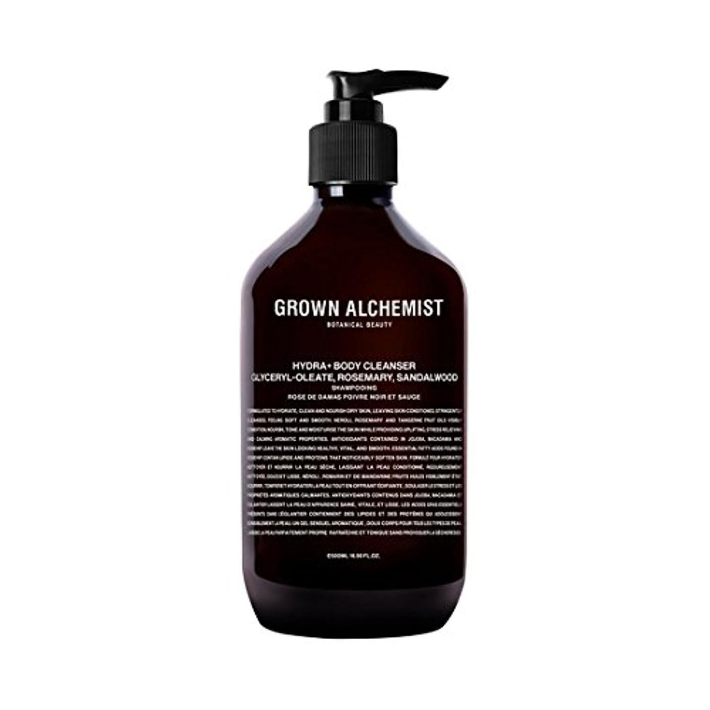 活気づける嘆願トンネルGrown Alchemist Hydra+ Body Cleanser - Emerald Cypress Co2 Extract, Rosemary & Sandalwood 500ml/16.9oz並行輸入品