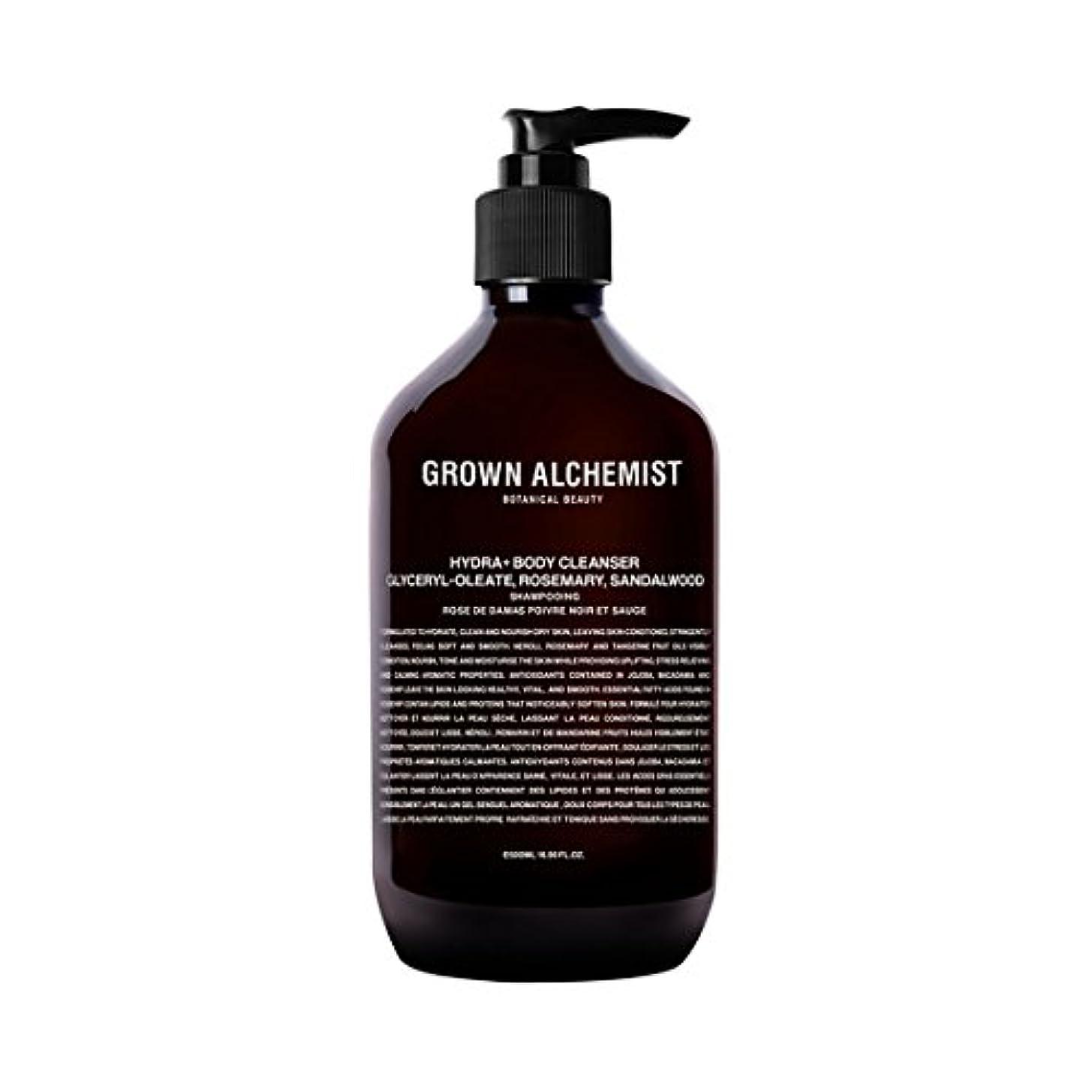 方向委員長許可するGrown Alchemist Hydra+ Body Cleanser - Emerald Cypress Co2 Extract, Rosemary & Sandalwood 500ml/16.9oz並行輸入品