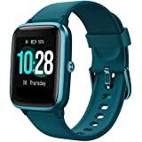 Smart Watch with Color LCD Touch Screen, Fitness Tracker with Heart Rate Monitor, Pedometer, Sleep Tracker, Waterproof Activity Tracker for Men Women Festival Birthday Anniversary