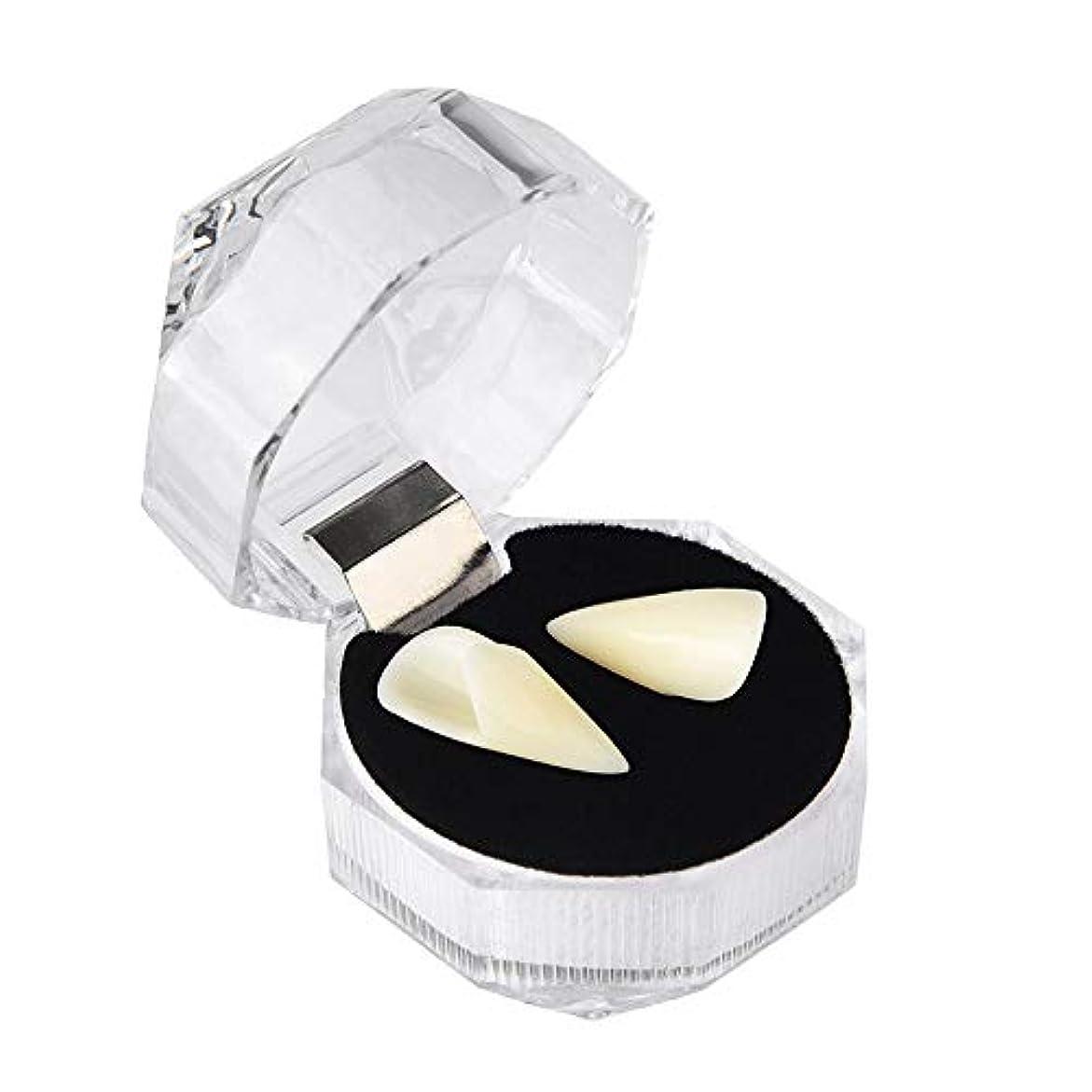 パーティションパノラマアブセイユニセックスハロウィーンロールプレイングゾンビ義歯、樹脂にやさしい食品グレード義歯(13mm、15mm、17mm、19mm),19mm