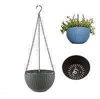 フラワースタンド ハンギングバスケット 花台 ハンギング鉢 植木鉢 プランター 園芸 室内 室外 (吊り下げ 鉢)