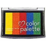 サンビー カラーパレット 5色コンビ (インク色:プライマリー) CP-501 / 6セット