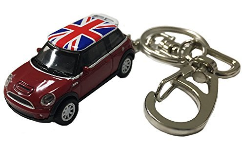AUTODERIVE(オートドライブ) KEY CHAINS ミニクーパーS RED/UK ミニカー...