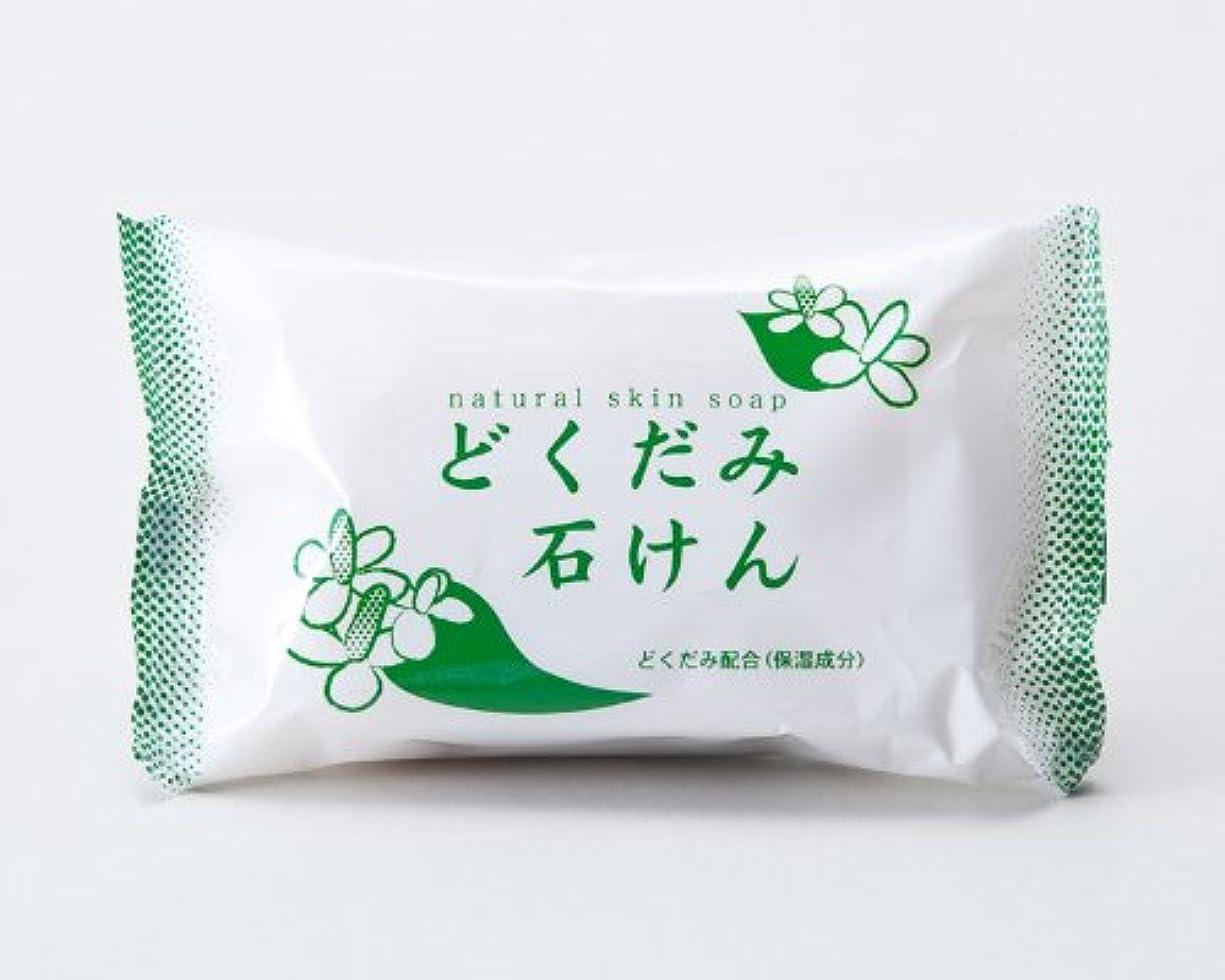 ヘルパー経験者カヌー地の塩社 DNスキンソープ(どくだみ)130g×100
