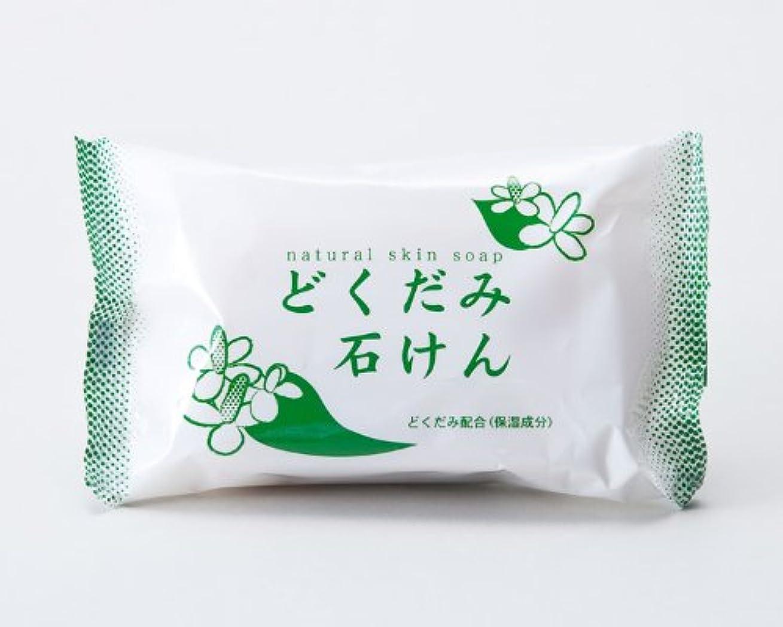 緑愛国的な磨かれた地の塩社 DNスキンソープ(どくだみ)130g×100
