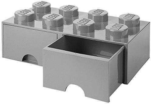 LEGO(レゴ) 収納ケース・ボックス ストーングレー 50...