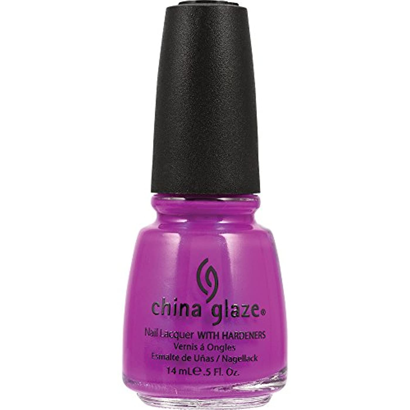 China Glaze Nail Lacquer 1008 Purple Panic 70290 (並行輸入品)