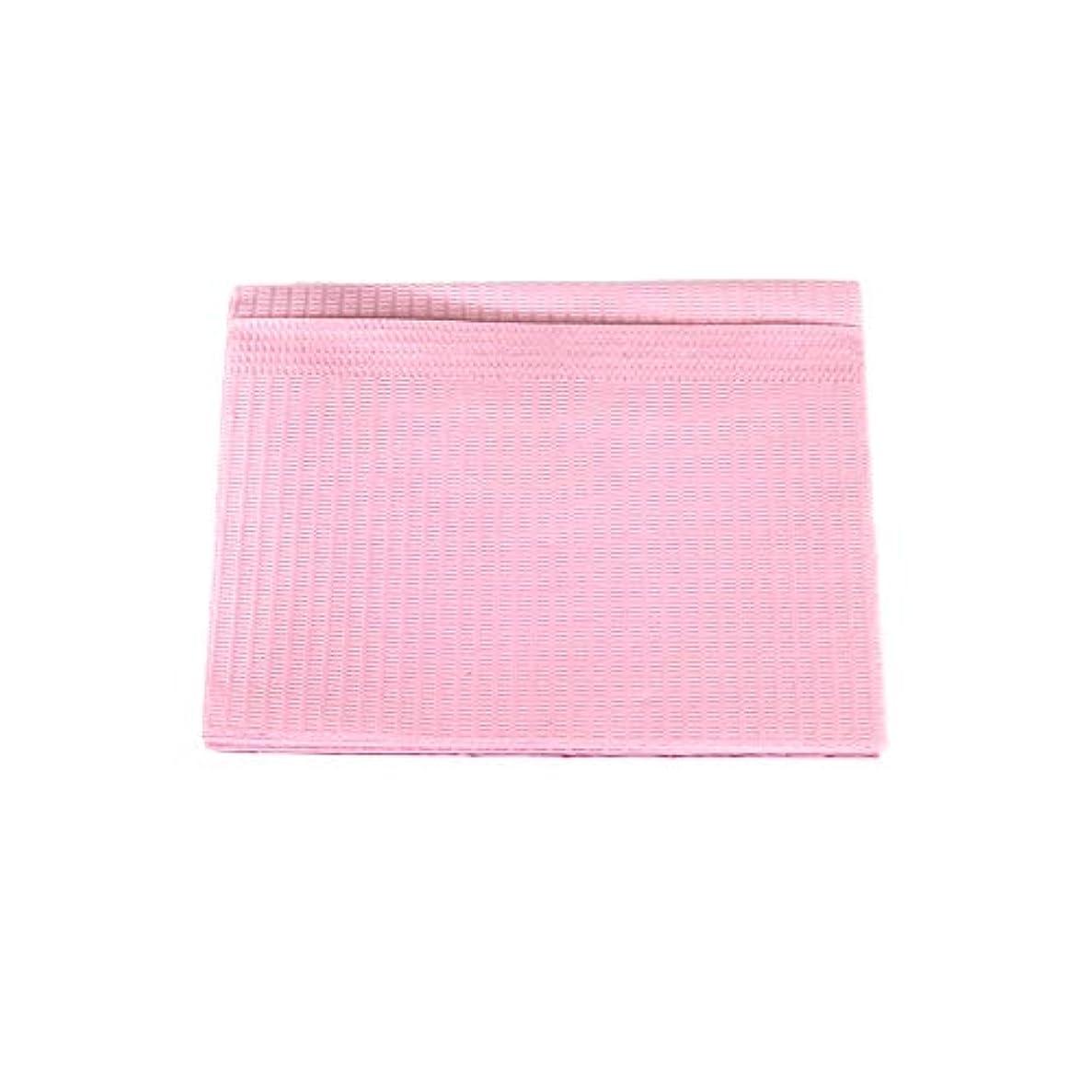 スペクトラムブレース理想的には防水ネイルペーパー ピンク 10枚入り ネイルシート 防水ペーパー キッチンペーパー