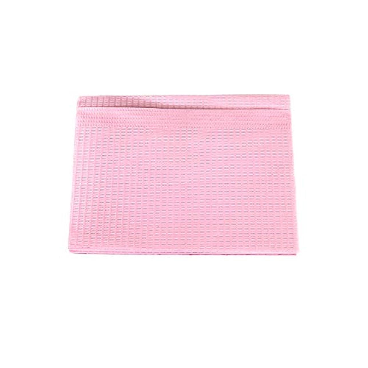 防水ネイルペーパー ピンク 10枚入り ネイルシート 防水ペーパー キッチンペーパー