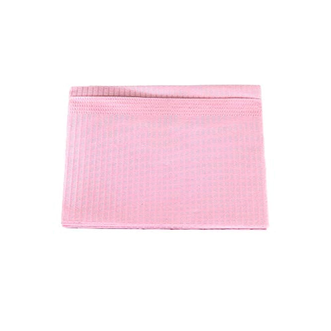 フレキシブルプレビュー結婚式防水ネイルペーパー ピンク 10枚入り ネイルシート 防水ペーパー キッチンペーパー