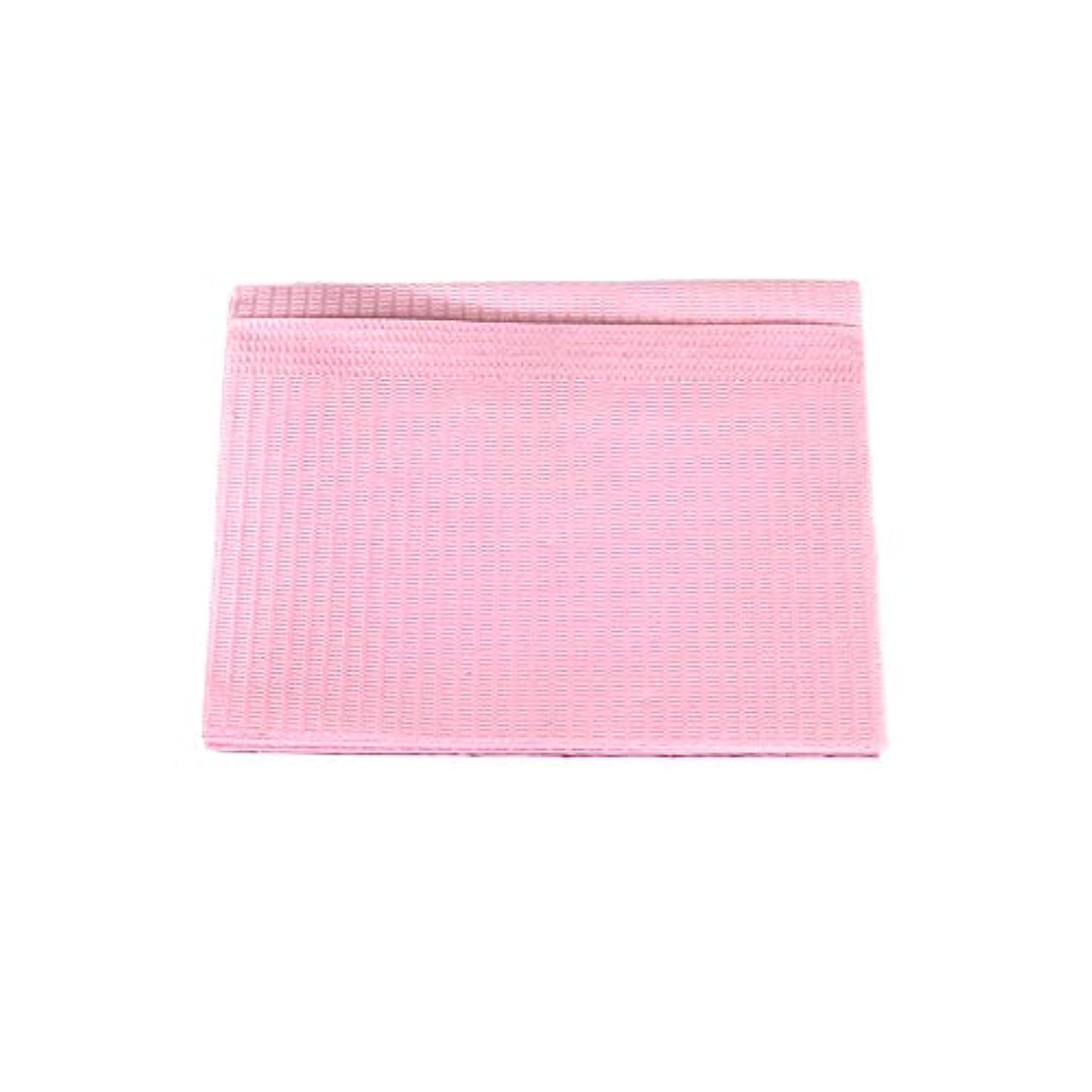 土器弁護パイ防水ネイルペーパー ピンク 10枚入り ネイルシート 防水ペーパー キッチンペーパー